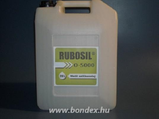 Rubosil M5000 szilikon olaj (20 liter)