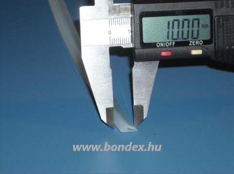 Szilikon élvédő profil  0,5 mm vastag élekhez