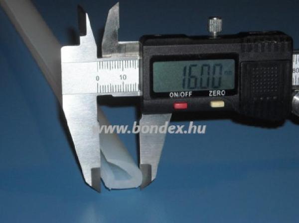 Autoklav tömítés 16 mm szélességű szilikon tömítőprofil
