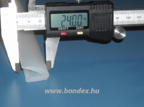 Autokláv tömítés 24 mm széles szilikon tömítő profil