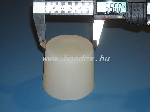 Borászati szilikon dugó  55 mm