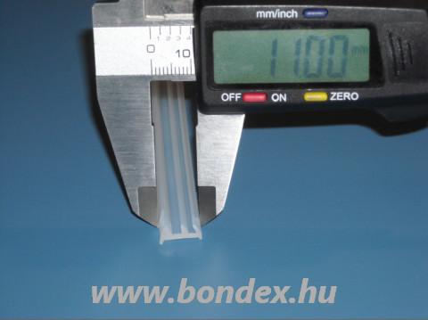 Réstömítő szilikon profil 2-3 mm széles hézagokhoz