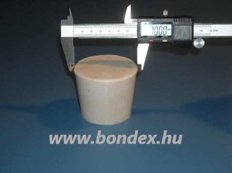Borászati szilikon dugó 60/70 mm-es