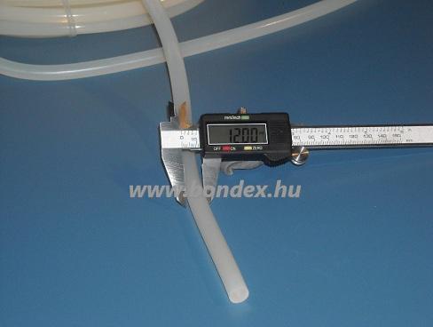 Pálinkafőző tömítő zsinór 12 mm szilikonból