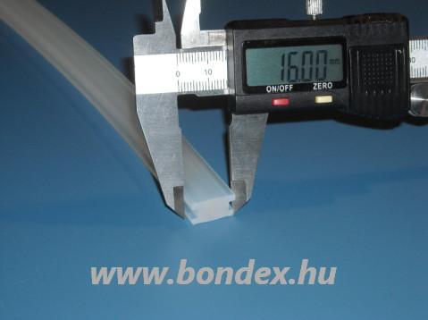 Szilikon H profil fóliahegesztő géphez 16mm-es