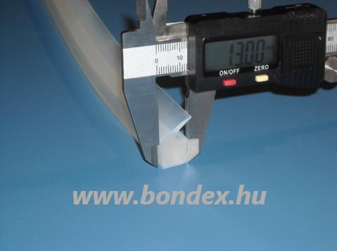 Autokláv tömítő profil 13x24 mm