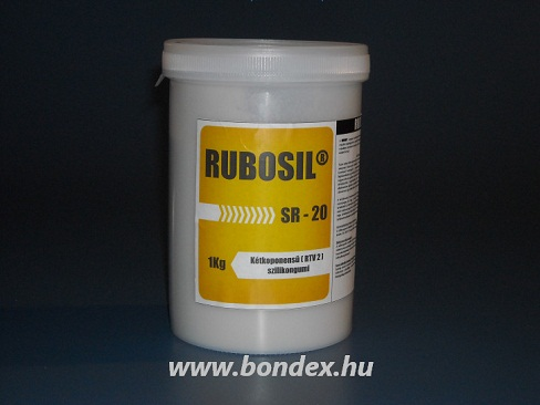 Élelmiszeripari önthető szilikon OÉTI engedélyes Rubosil SR20