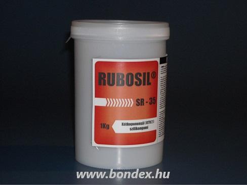 OÉTI engedélyes öntőforma készítő önthető szilikon Rubosil SR35