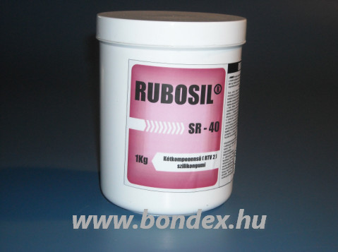 OÉTI engedélyes önthető szilikon formagumi SR40