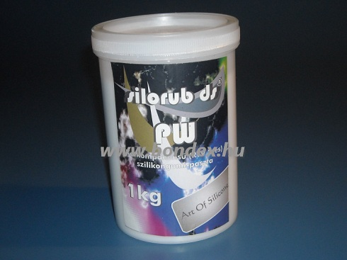 Kétkomponensű szilikon gyurma PW
