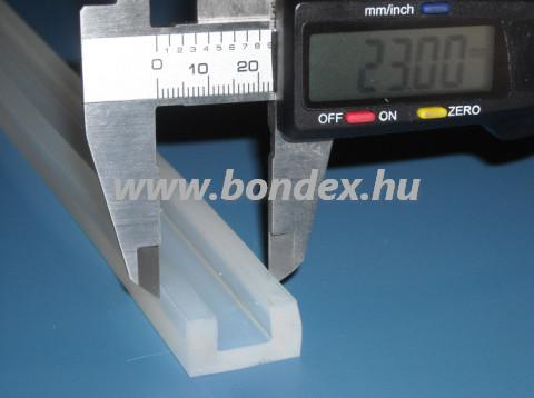 12 mm szilikon élvédő