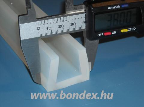 Szilikon élvédő 24 mm-es lemez vastagsághoz