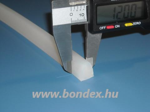 Szilikon trapéz profil 5X12X12 mm