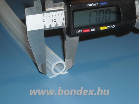 Szilikon nyílászáró tömítő omega profil 12 mm