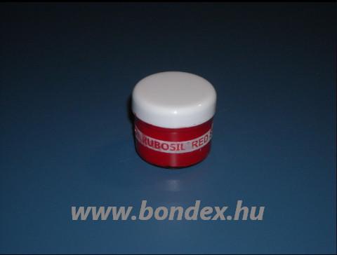 Piros színű szilikon színezőpaszta és festék pigment Rubosil önthető szilikon gumihoz