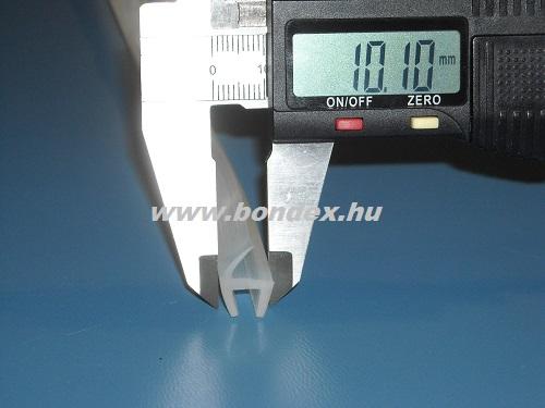 Zuhanykabin vízzáró szilikon profil 6mm-es üvegre