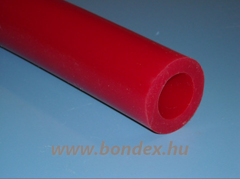 ø 24 x 39 mm piros szilikon cső