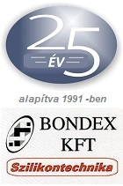 Bondex szilikonfeldolgozó és termékgyártó
