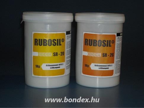Rubosil önthető kétkomponensű szilikon