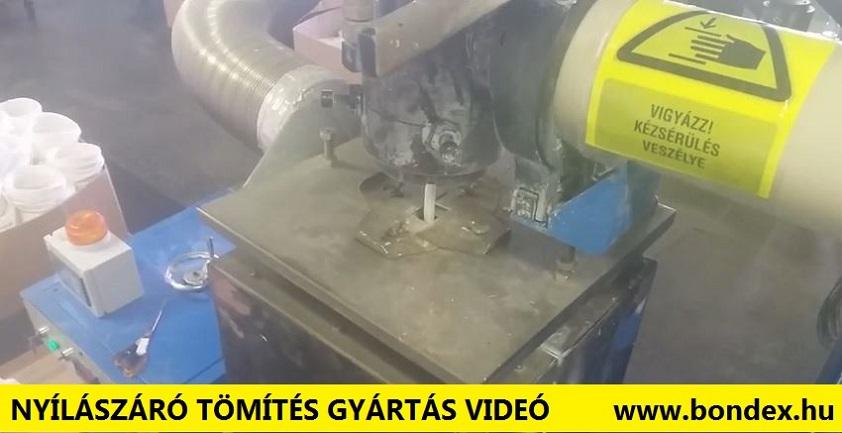 Szilikon nyílászáró tömítés gyártás