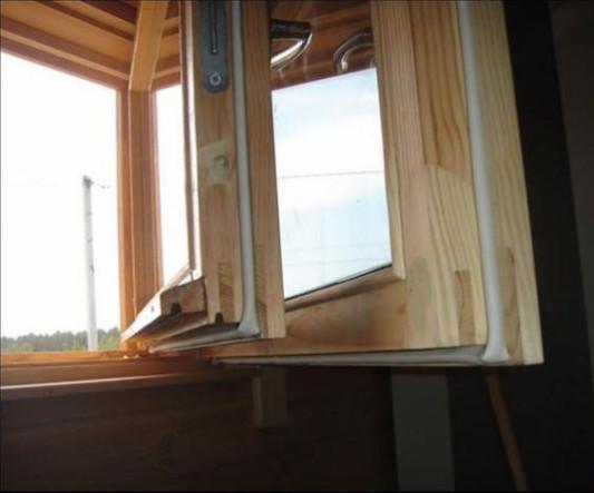 beépített HUNstrip ablak tömítés