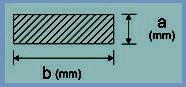 6x4 mm szilikon szalag (téglalap alakú)