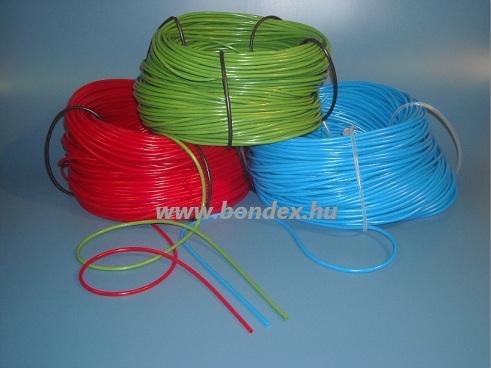 színes szilikontömlők